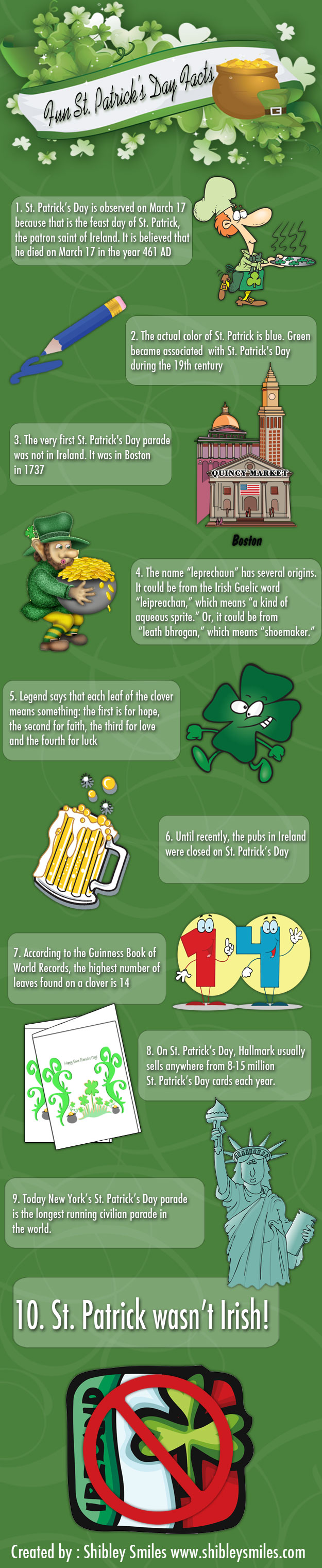 Fun St. Patrick's Day Facts