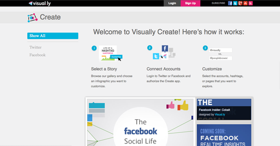 Infographics Software Tools | Visually