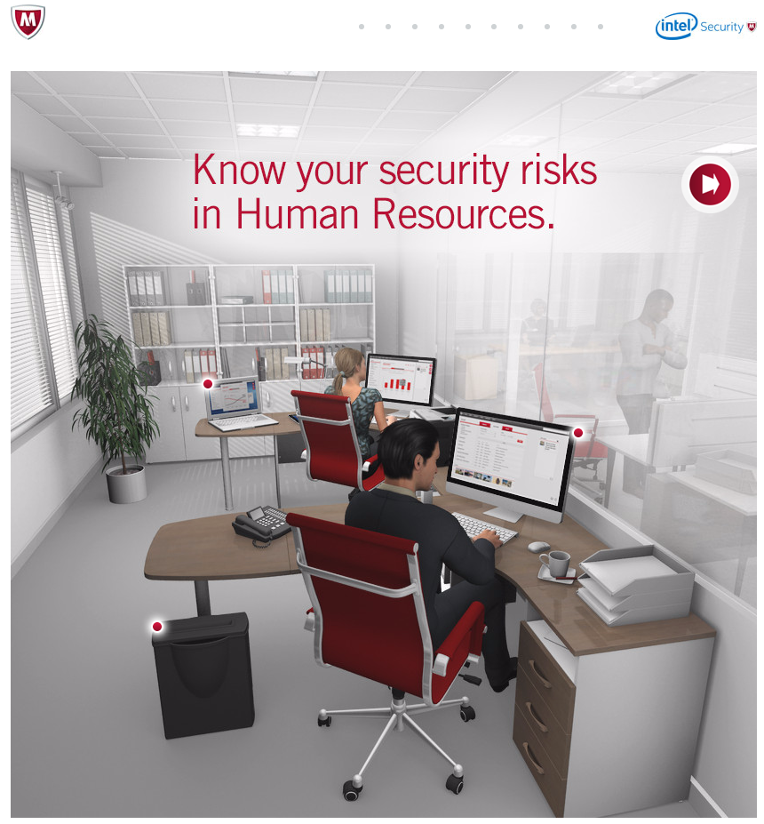 mcafee office risks