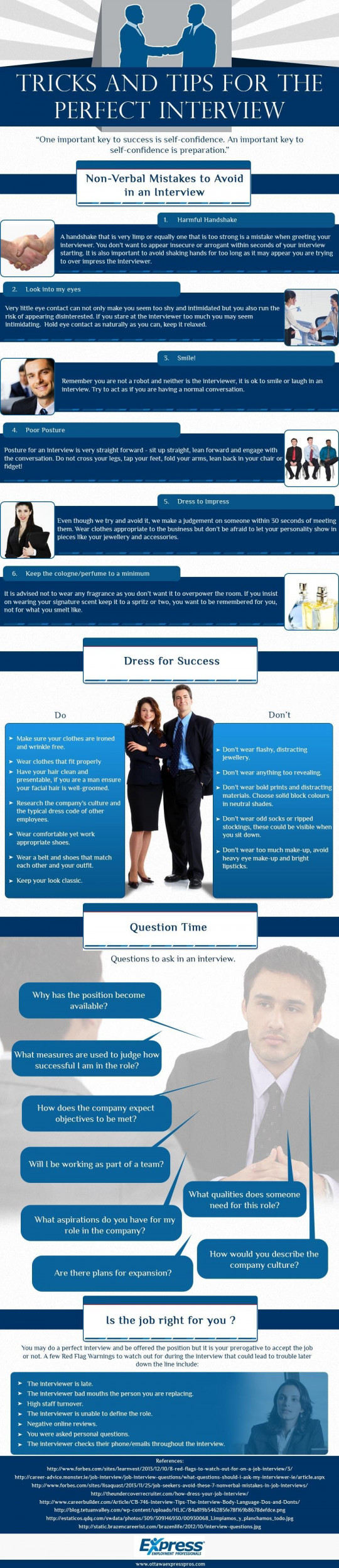 Tricks and Tips for The Perfect Interview