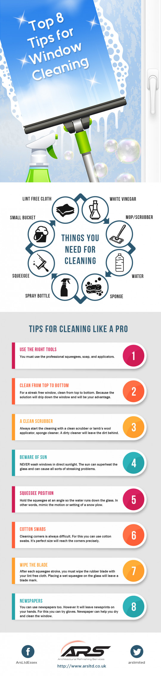 8 Tips for Window Cleaning