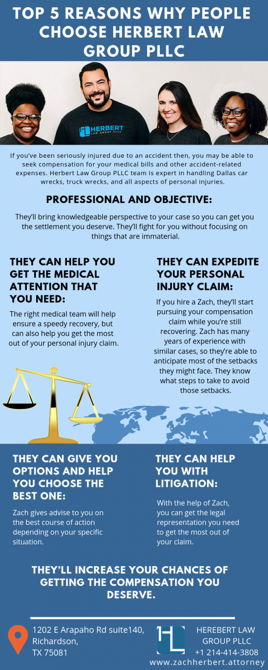 Know the Reasons? Why Herbert Law Group PLLC Is Best Personal Injury Attorney