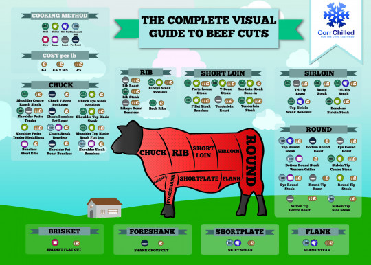 The Complete Visual Guide to Beef Cuts