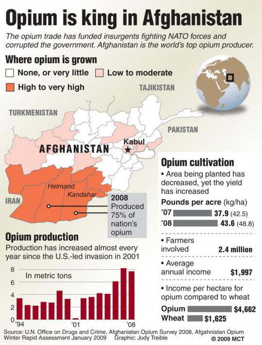 Opium is King in Afghanistan
