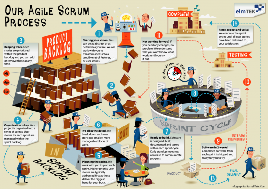 The Agile Scrum Process