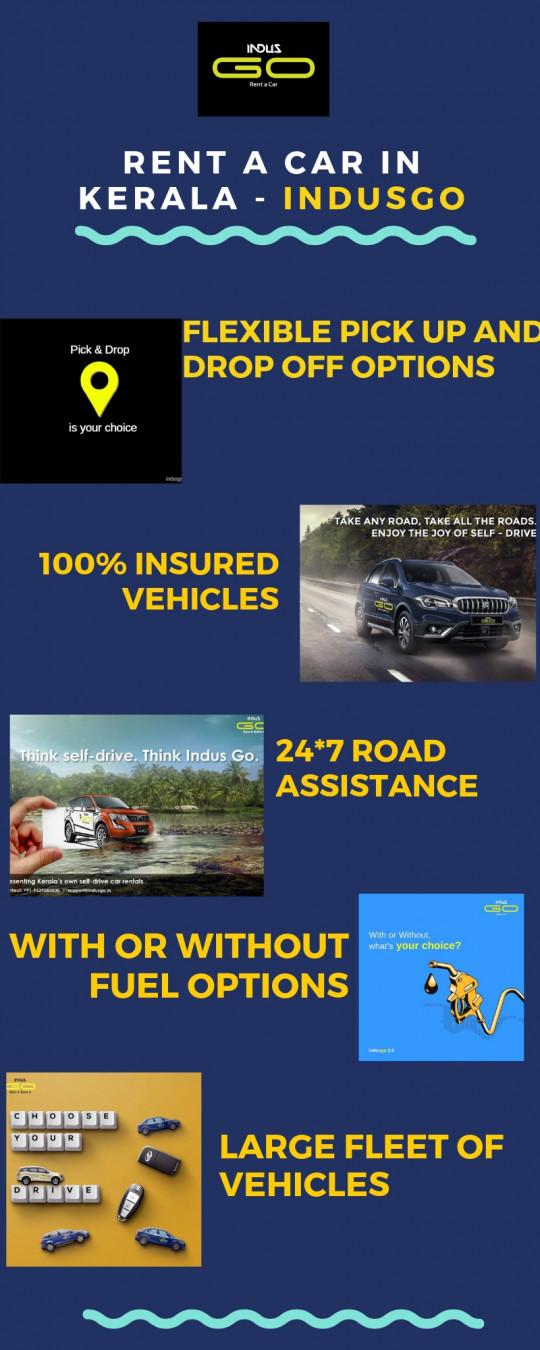 Rent a Car in Kerala - IndusGo