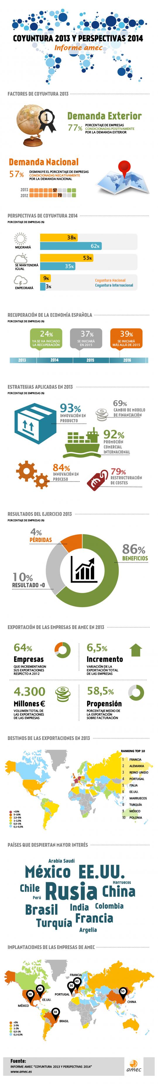 Informe AMEC - Coyuntura 2013 y Perspectivas 2014
