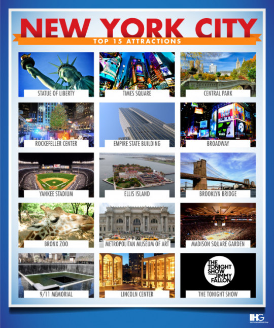 New york city tourist attractions popular best free for Top ten attractions new york