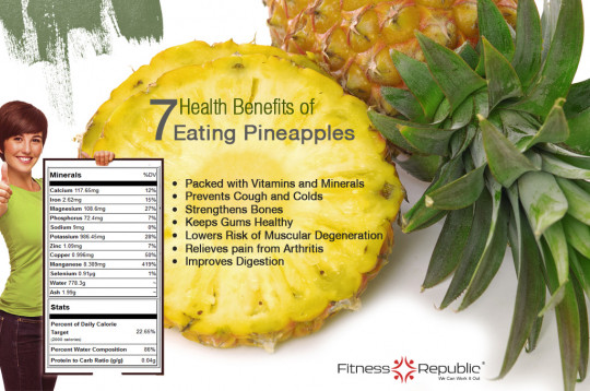 Pineapple and Frozen Orange Juice Smoothie (4 Way Smoothie); 7 Health Benefits Of Eating Pineapples