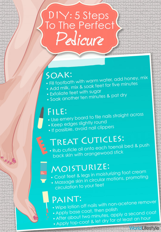 DIY: Five Steps to the Perfect Pedicure