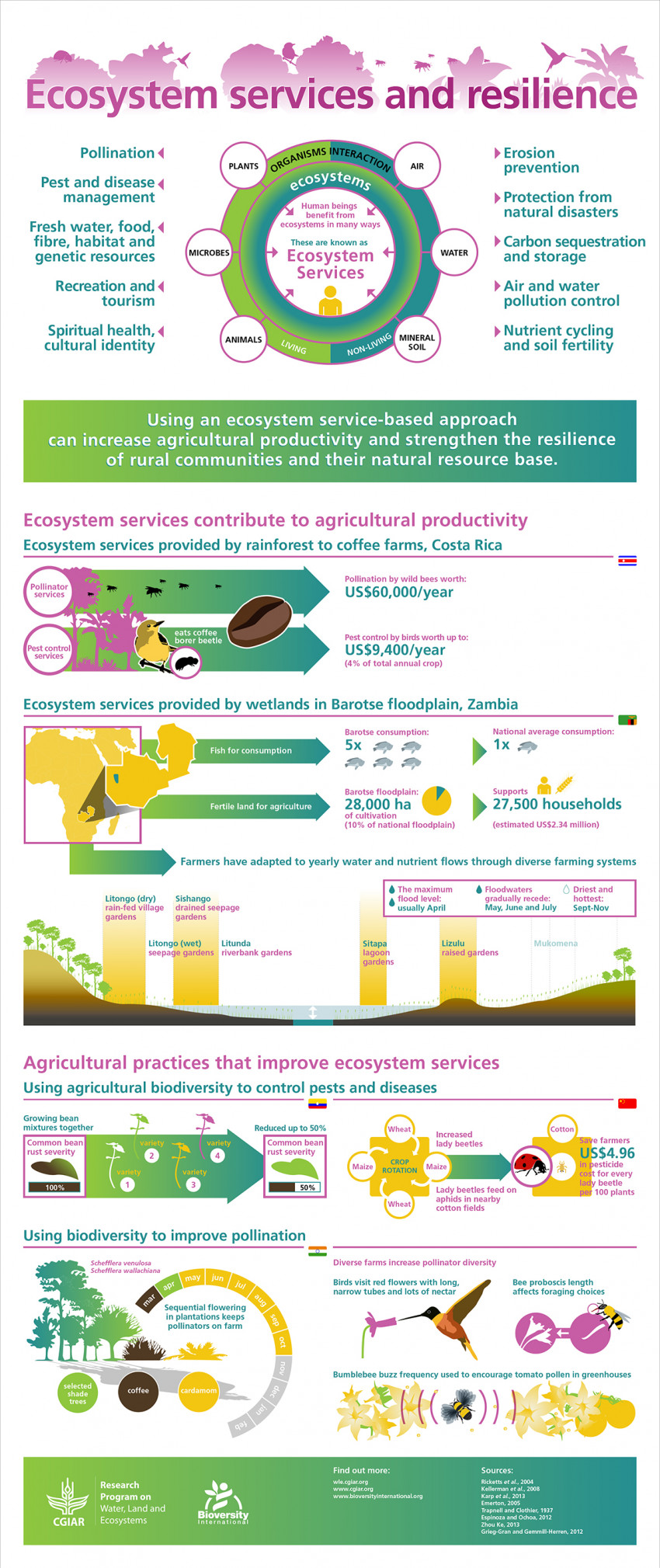 Ecosystem Services and Resilience