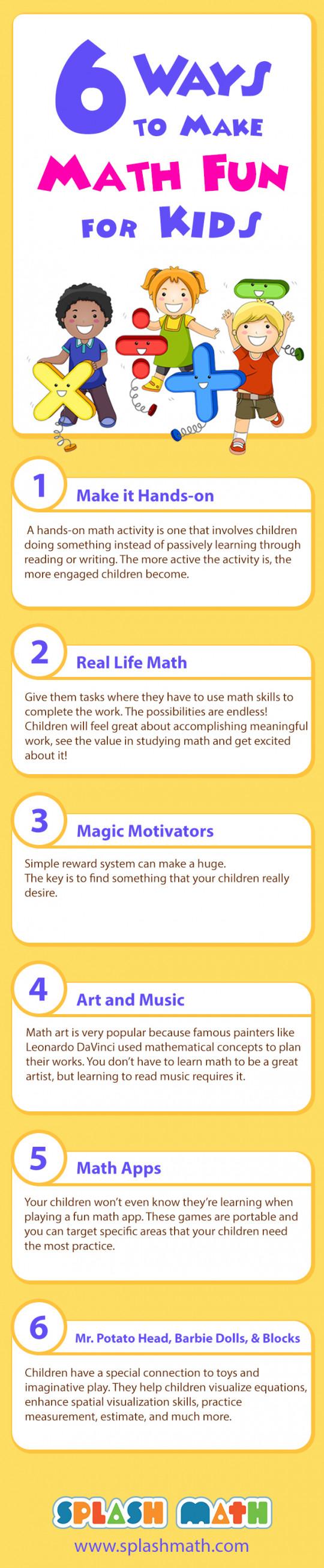 6 Ways to Make Math Fun
