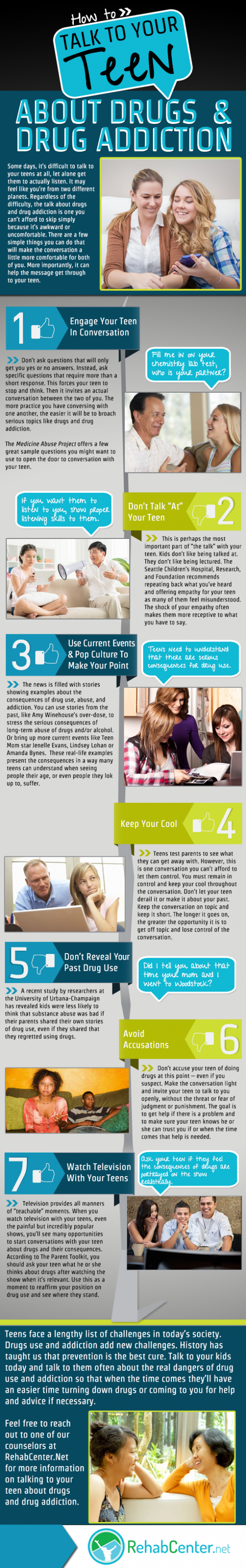 How to Talk to Your Teen About Drugs & Drug Addiction