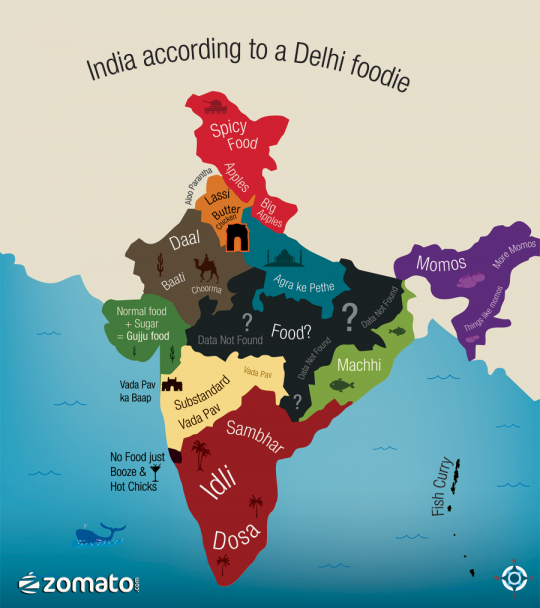 India according to a Delhi Foodie