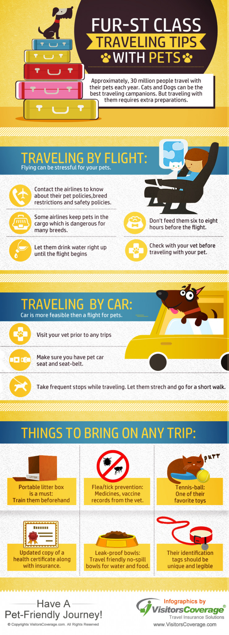 Traveling Tips for Travelers with Pets