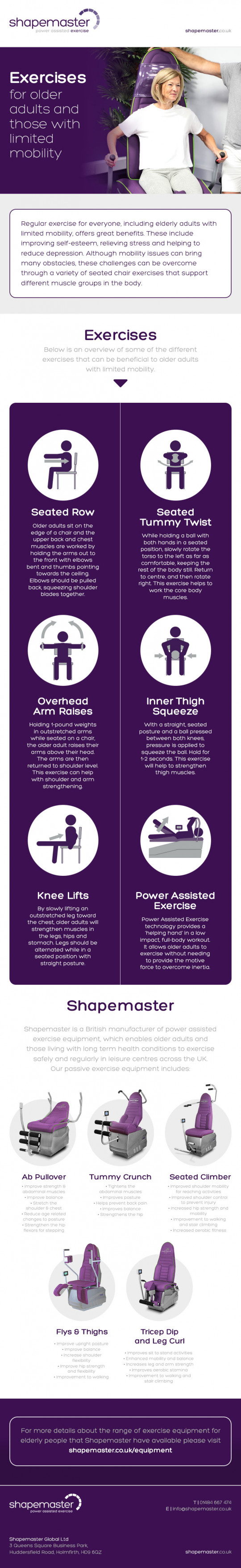 Exercises for Older Adults and Those with Limited Mobility