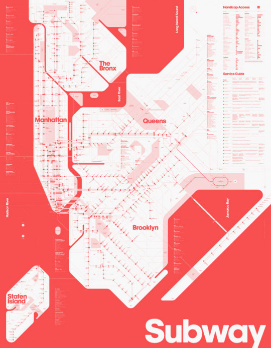Color Blind Subway Map