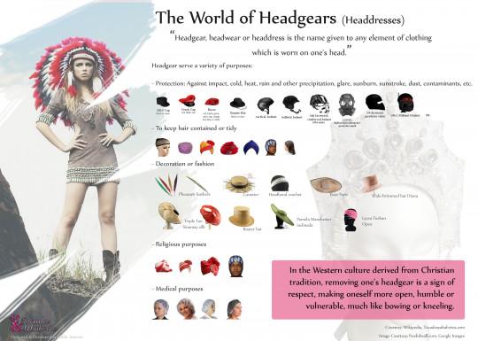 The World of Headgears & Fascinator Hats