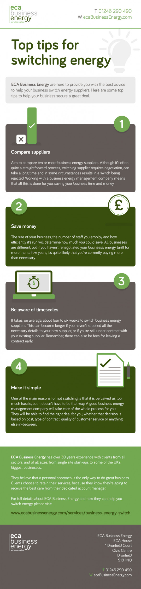 Top Tips for Switching Energy