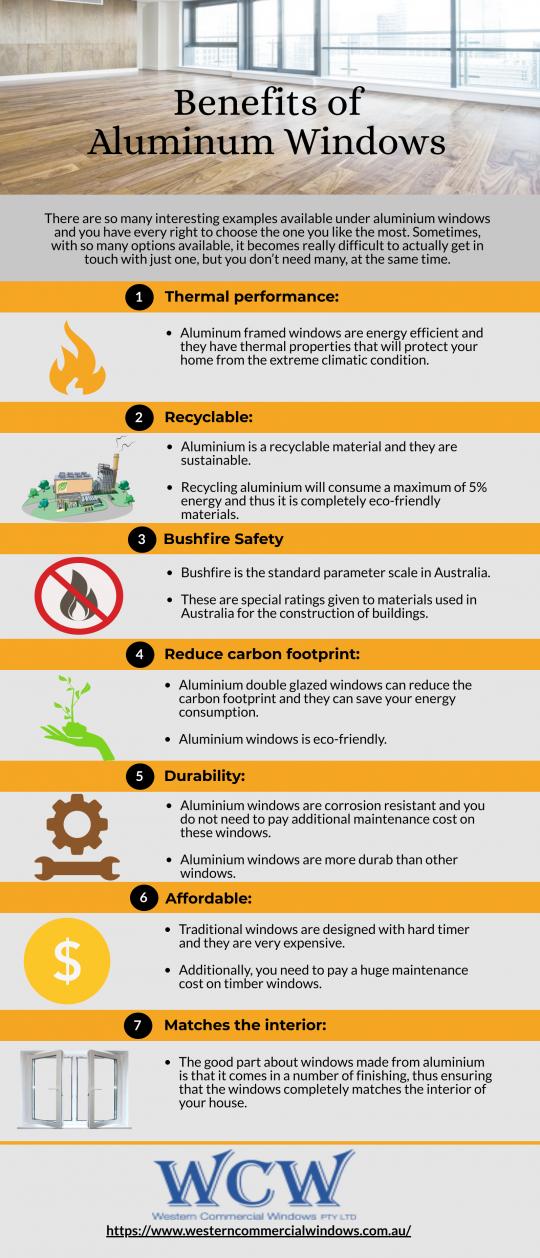 Benefits of aluminum windows