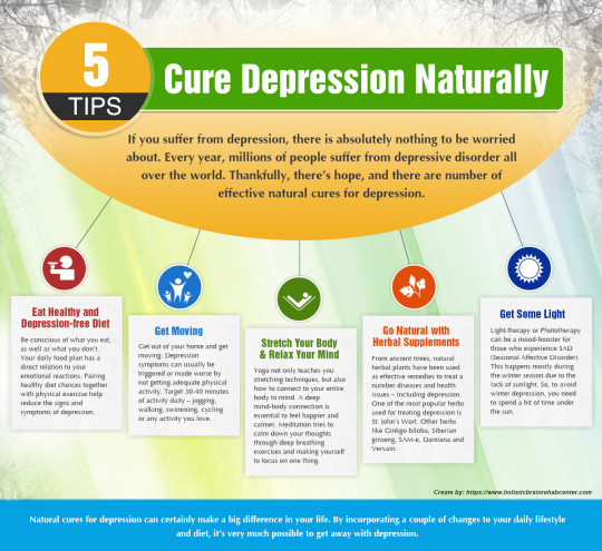 5 Tips to Cure Depression Naturally
