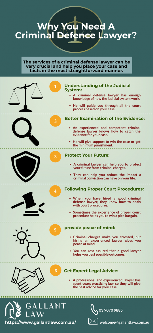 Why You Need A Criminal Defence Lawyer?