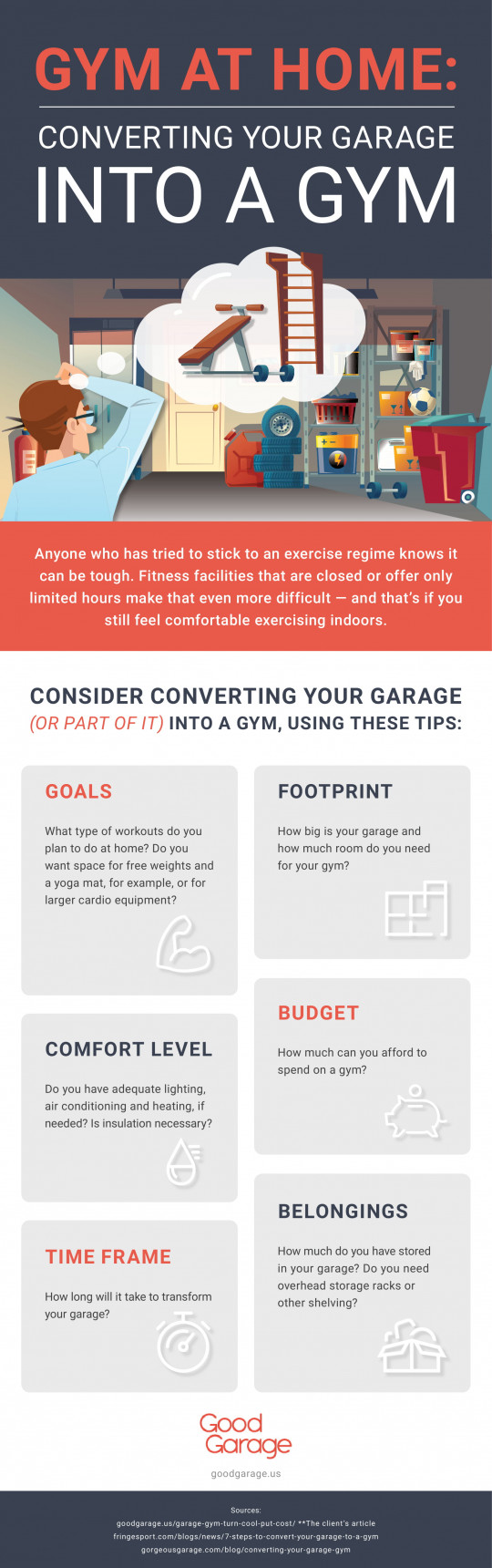 Gym At Home: Converting Your Garage Into A Gym