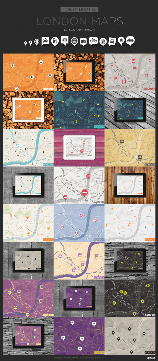 London Maps |  Maps Style Design