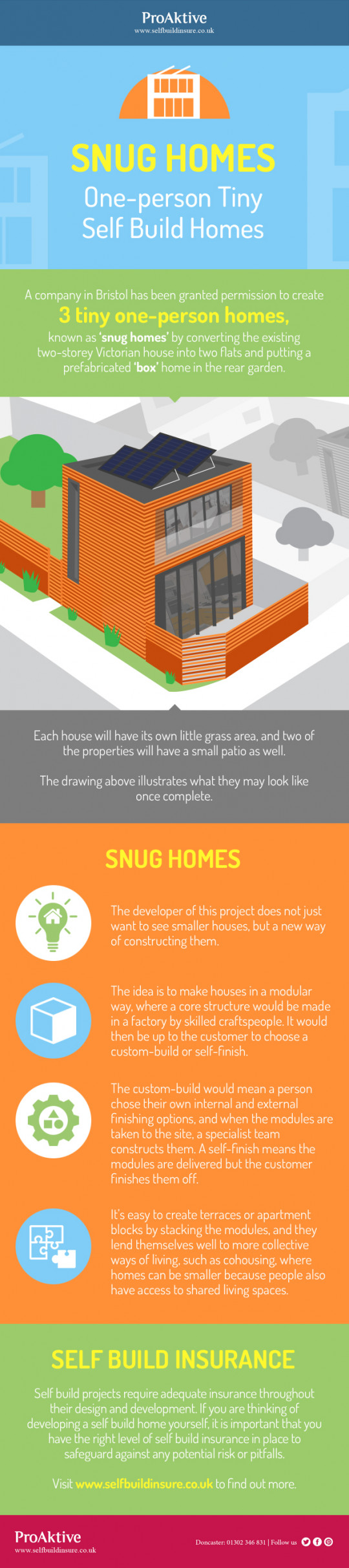 Snug Homes: One-person Tiny Self Build Homes