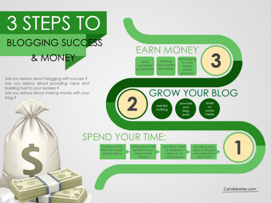 Blogging Tips And Blogging Success Infographic
