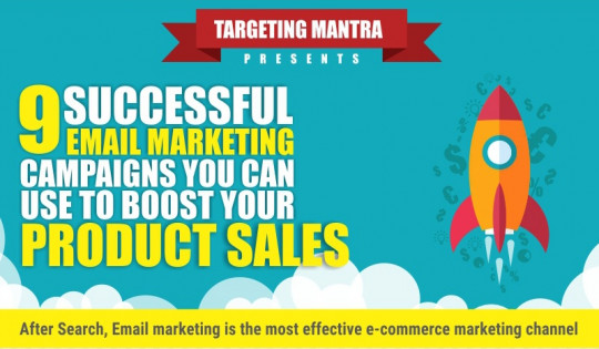 Successful Email Marketing Campaigns to boost your product sales