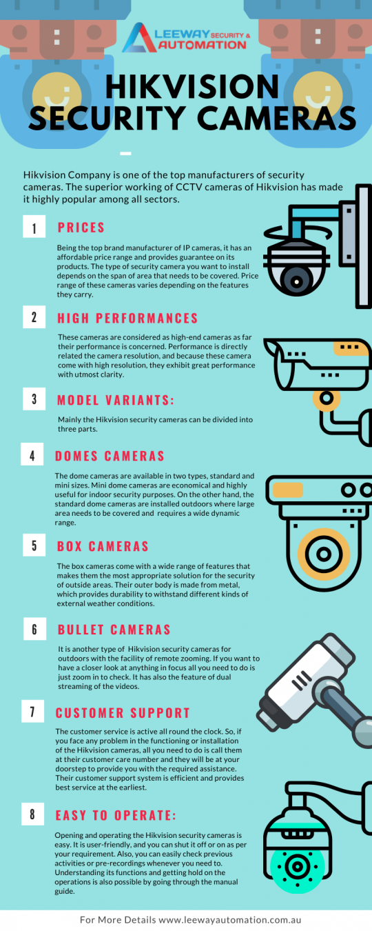 Why should you choose Hikvision security cameras?
