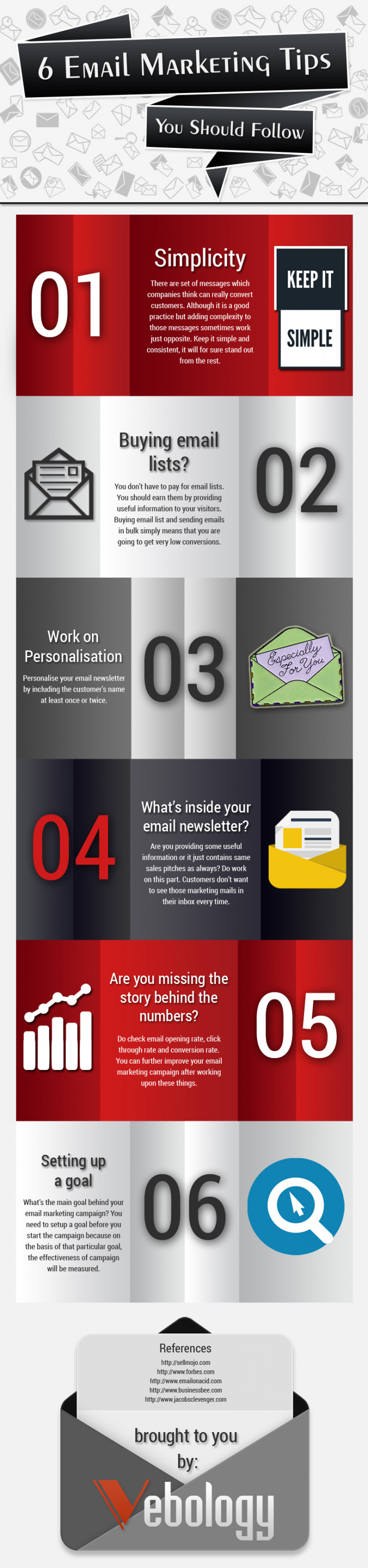 6 Email Marketing Tips You Should Follow [Infographic]