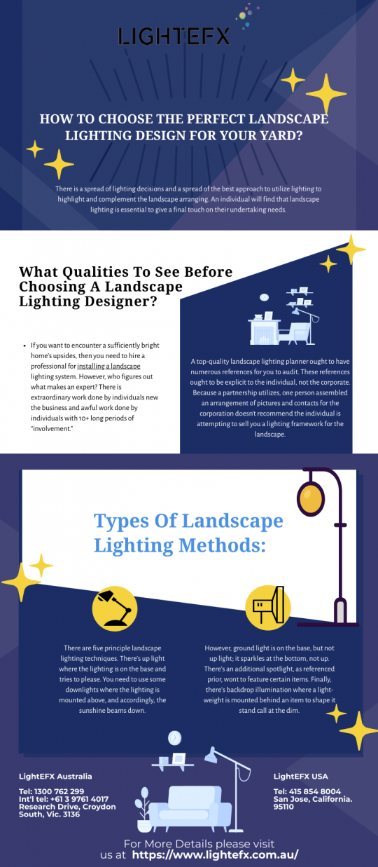 HOW TO CHOOSE THE PERFECT LANDSCAPE LIGHTING DESIGN FOR YOUR YARD?