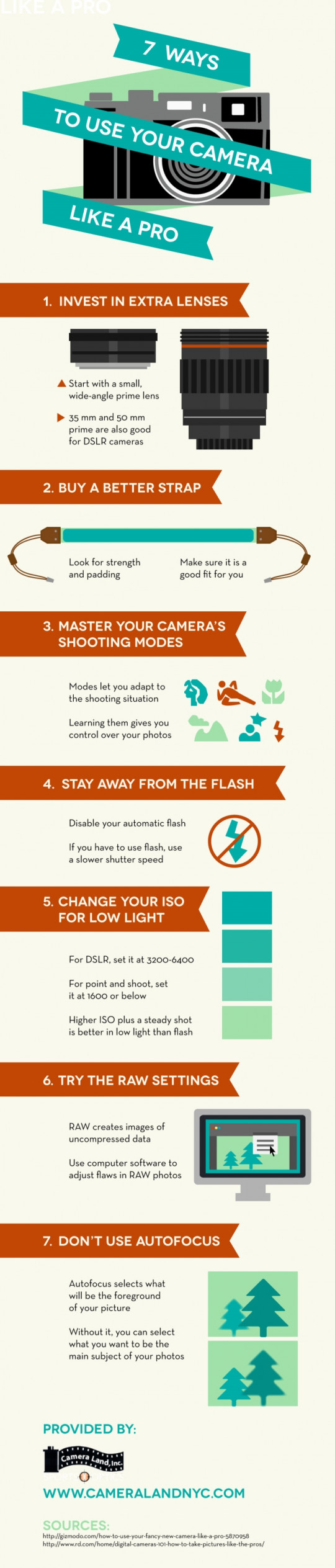 7 Ways to Use Your Camera Like a Pro