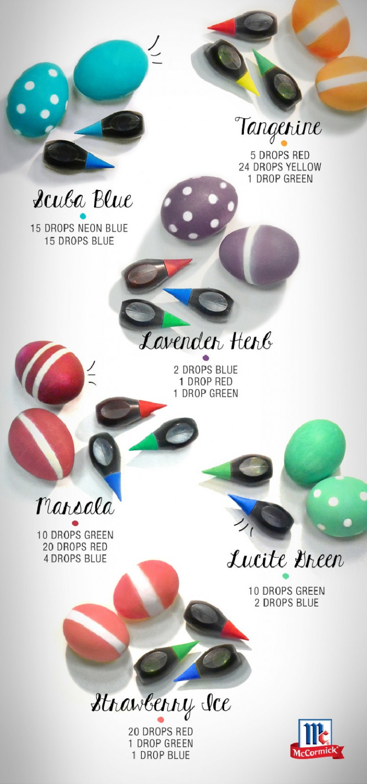 How to Dye Easter Eggs with Food Coloring Instead of Kits!