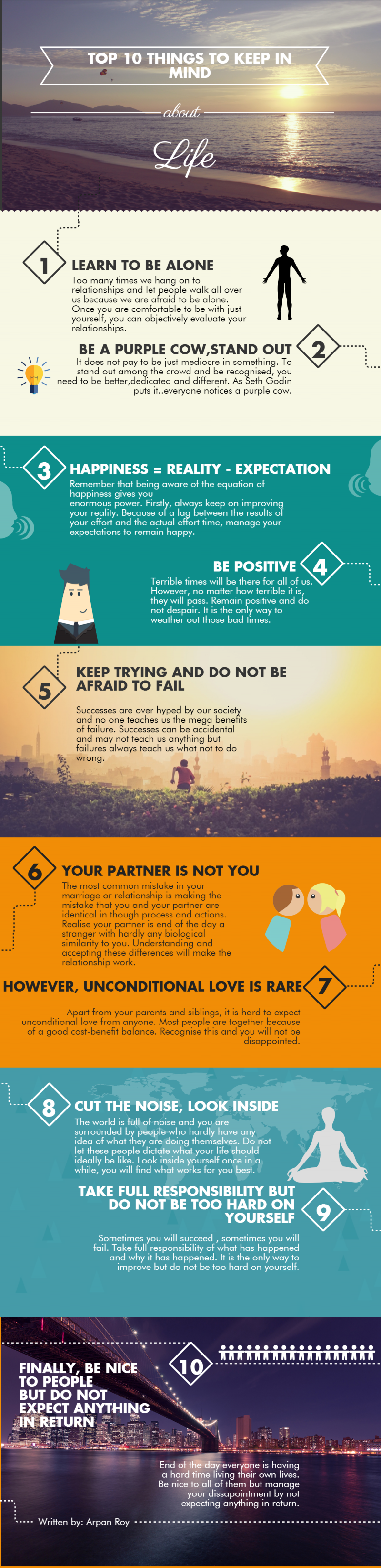 10 Things To Keep In Mind About Life