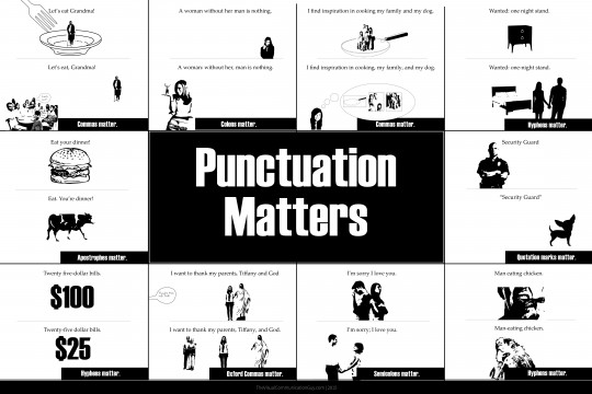 Punctuation Matters: 10 Hilarious Proofs that Usage Makes a Big Difference