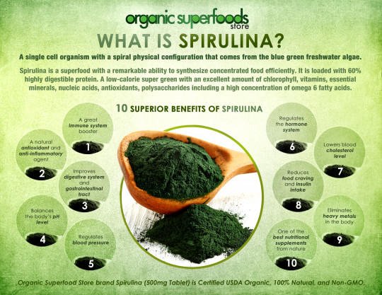 What is Organic Spirulina?