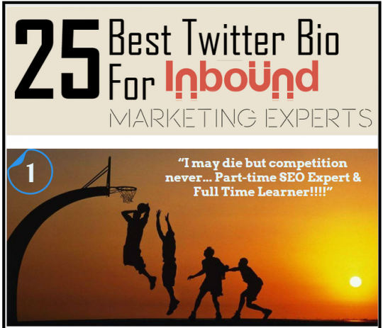 25 Best Twitter Bios For Inbound Marketing Experts