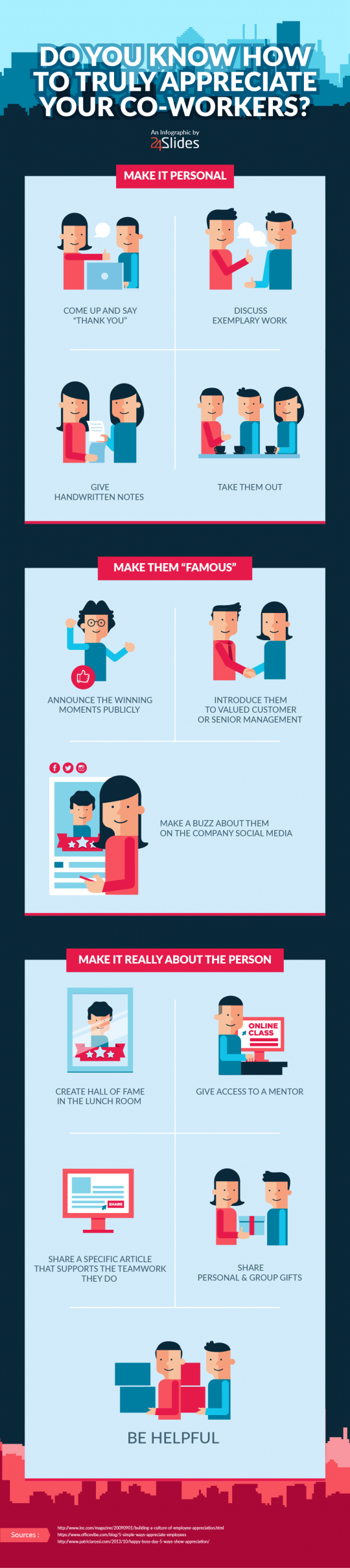Do you know how to truly appreciate your co-workers?