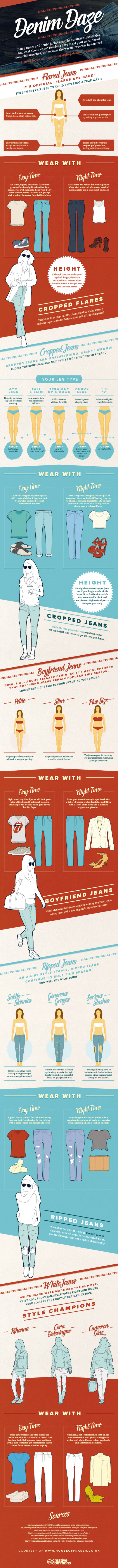 Denim Daze: A Jeans Style Guide