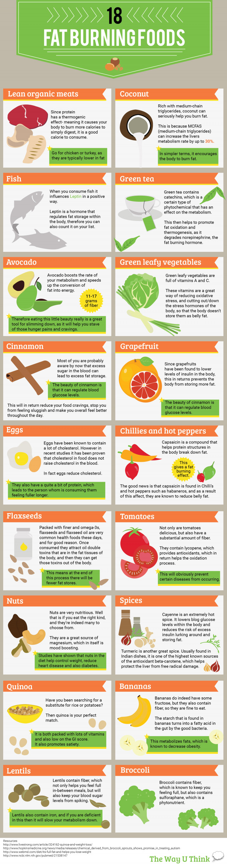 18 Foods that Help Burn Fat