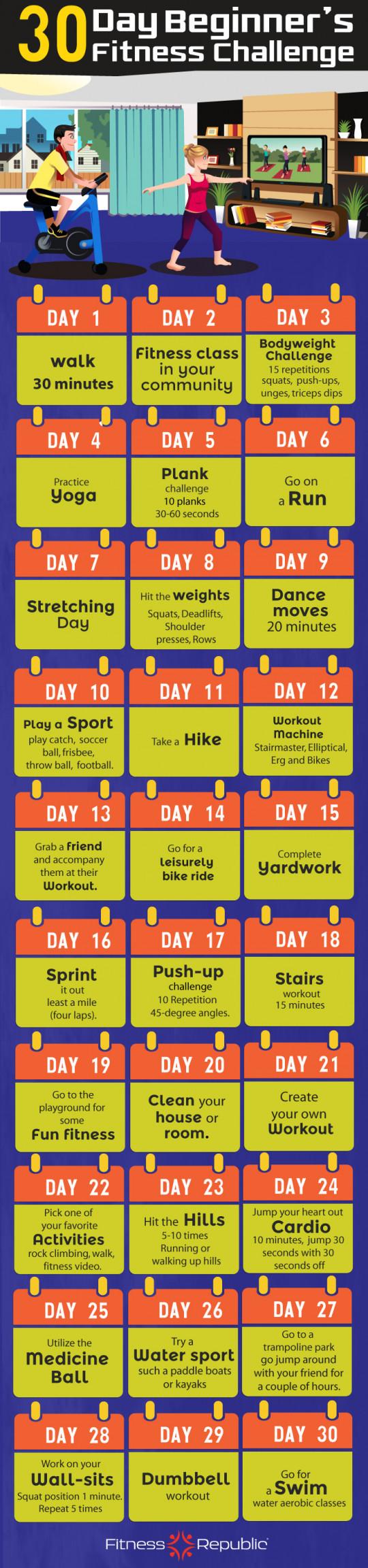 30 Day Beginner