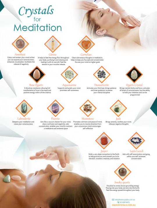 Crystals for Meditation