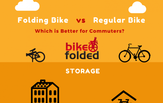 Folding Bike vs Regular Bike - Which is better for city commuters?