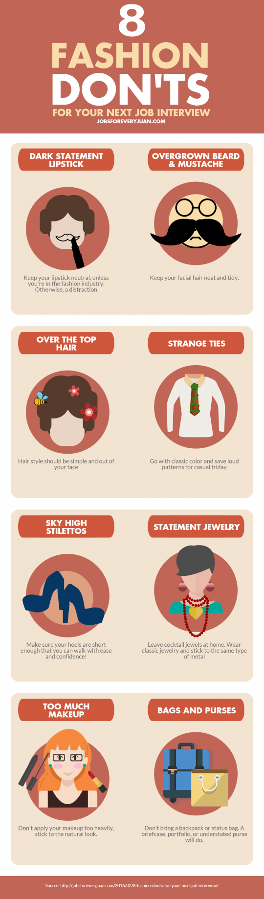fashion don ts for your next job interview infographic 8 fashion don ts for your next job interview fashion don ts