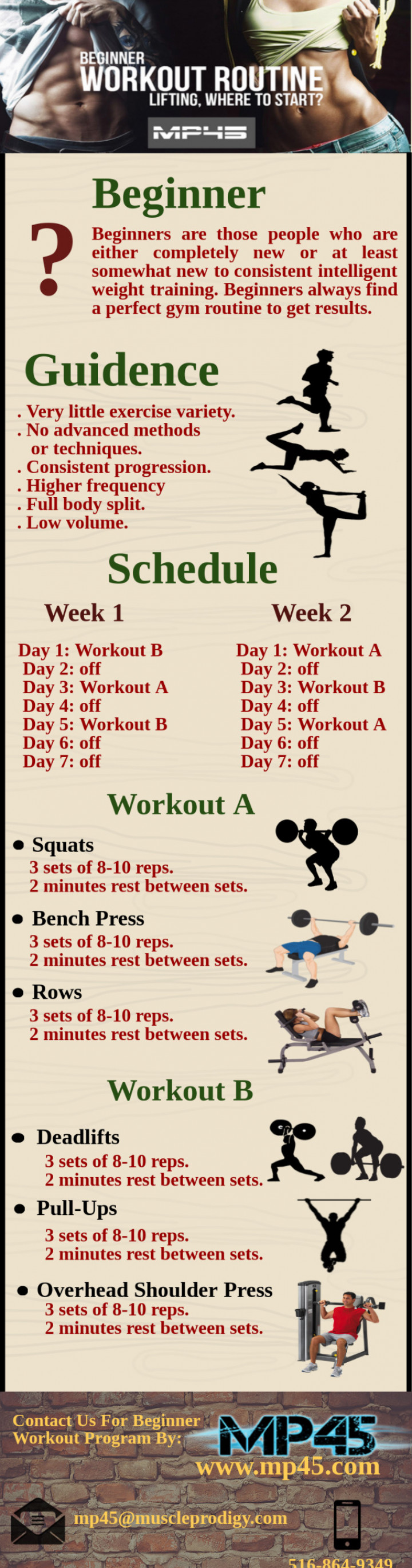 Beginner Workout Routines