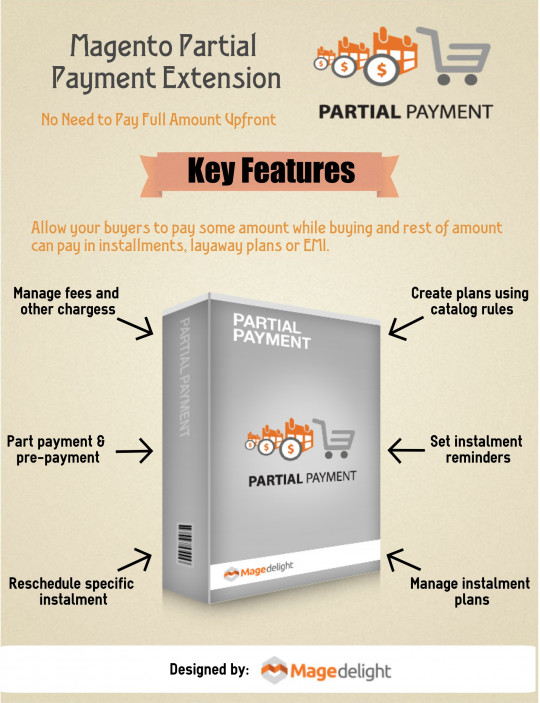 Partial Payment Extension For Magento Enabled eCommerce Store