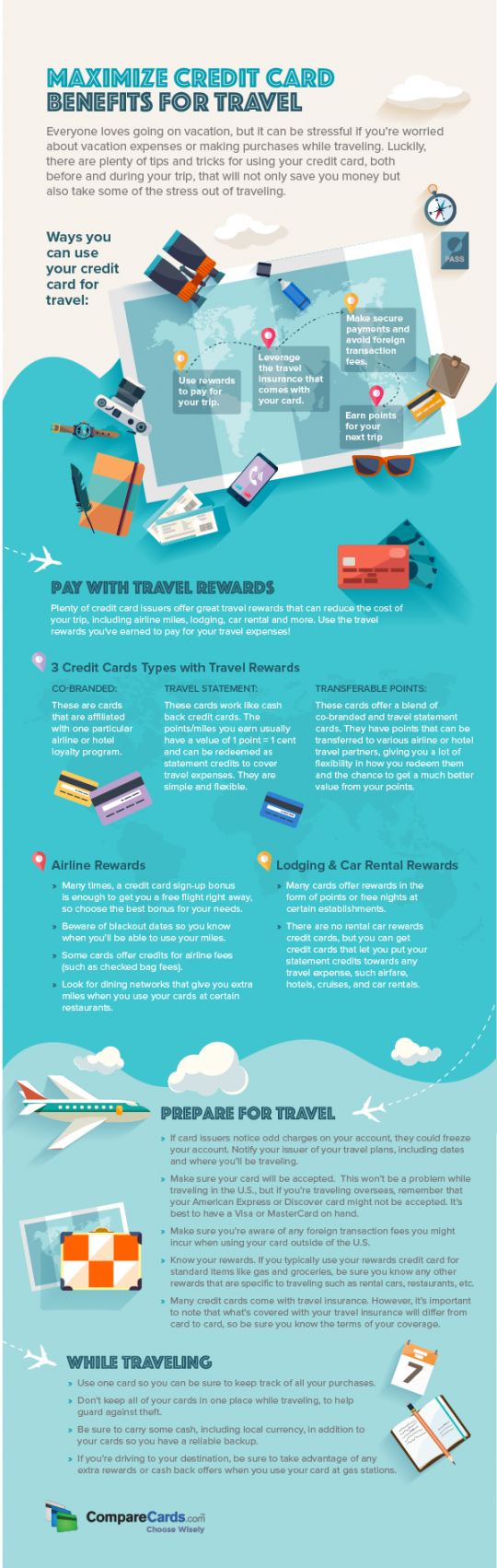 Maximize Credit Card Benefits for Travel